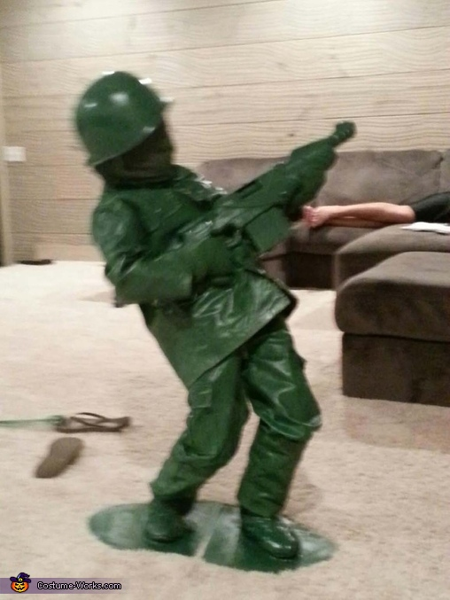 Toy Soldier DIY Costume