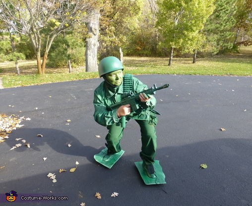 Look Out, Toy Soldier Costume