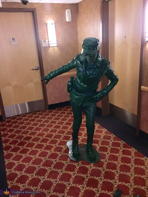 Toy Soldiers Homemade Costume