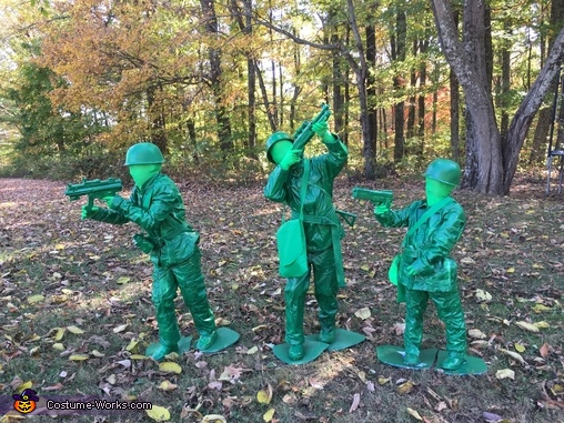 Toy Soldiers Group Costume