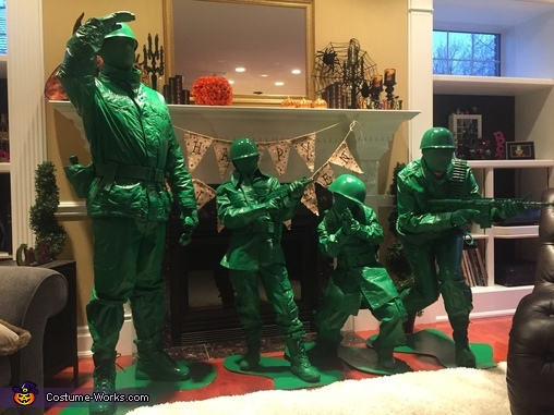 Prepare for Battle!, Toy Soldiers Costume