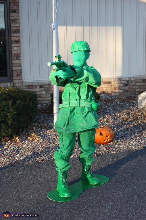 Pistol Soldier, Toy Soldiers Family Costume
