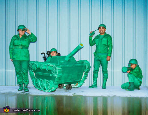 DIY Toy Soldiers Costume