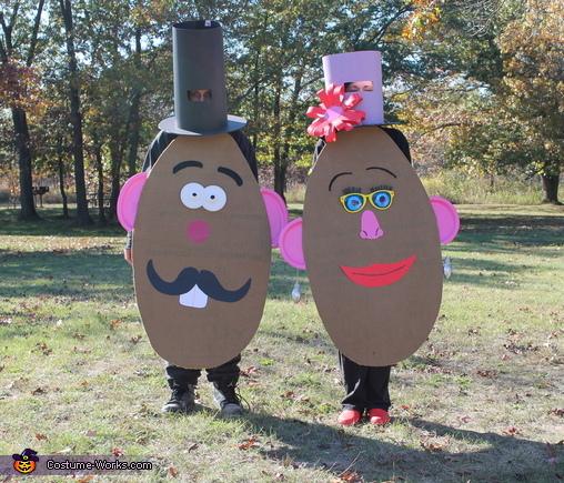 Mr. and Mrs. Potatohead, Toy Story Costume