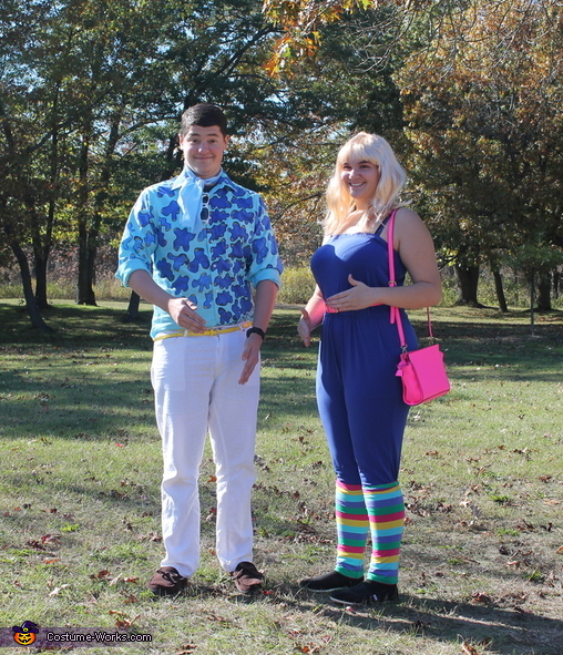 Ken and Barbie, Toy Story Costume