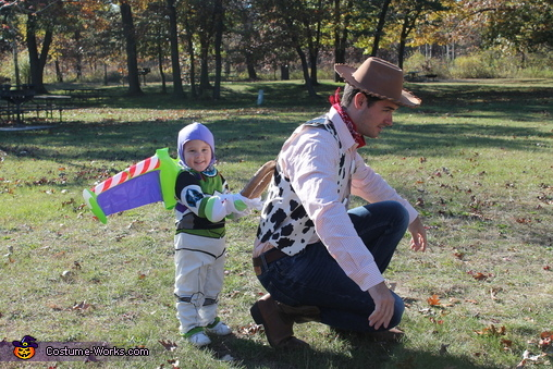 Another Buzz and Woody, Toy Story Costume