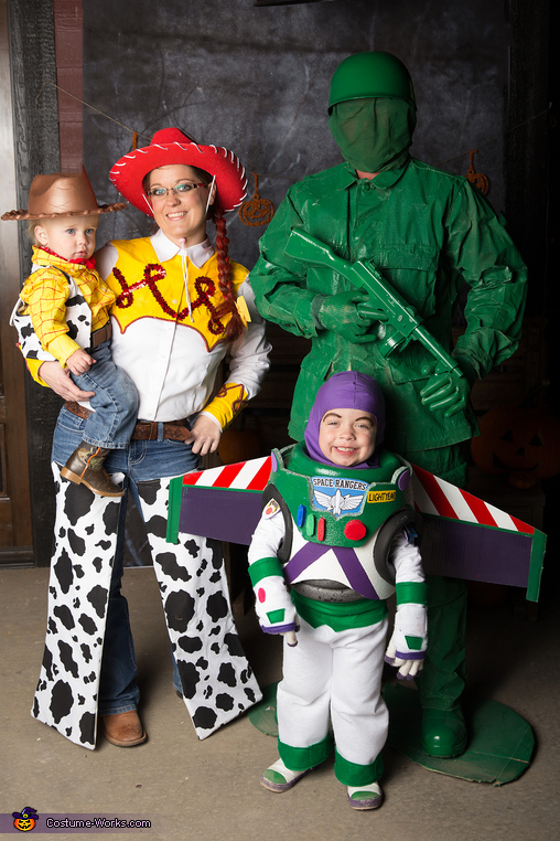 Toy Story Homemade Costume