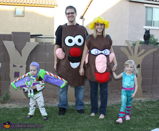 Toy Story 3 Family Costume