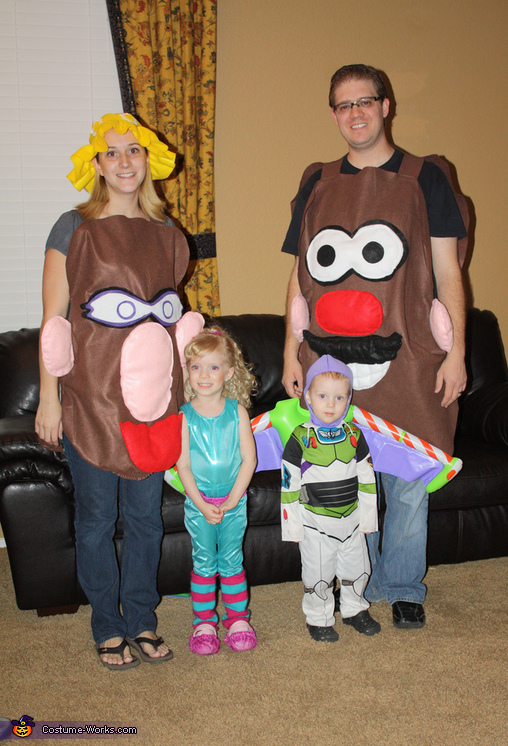 Toy Story 3 family, Toy Story 3 Family Costume