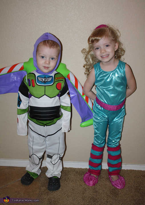 Buzz & Barbie!, Toy Story 3 Family Costume