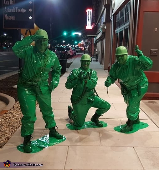 Toy Story Army Men Costume
