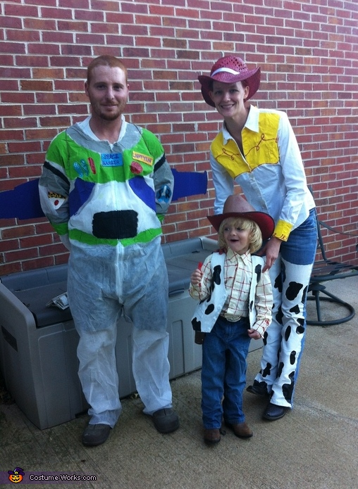 Toy Story Characters - Homemade costumes for families