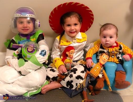Toy Story Crew Costume