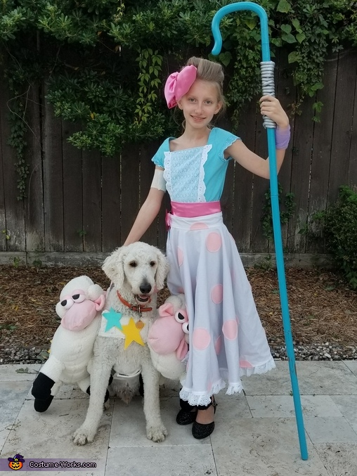 Bo Peep and her sheep, Toy Story Family Costume
