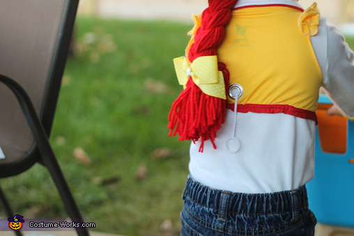 Jessie in Detail, Toy Story Gang Costume