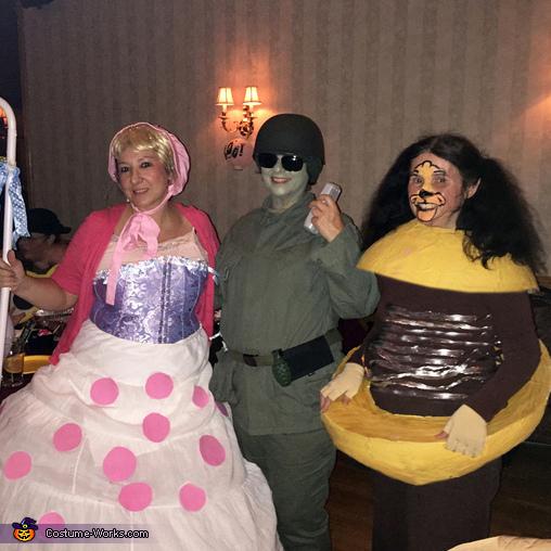 Bo Peep, Soldier, Slinky Dog, Toy Story Costume