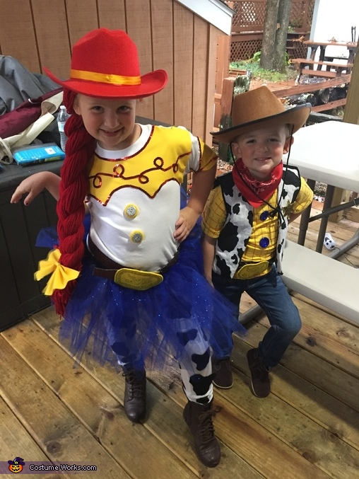 Toy Story Jessie and Woody Costume