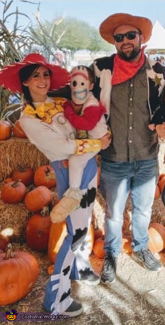 Toy Story: Jessie, Forky and Woody Costume