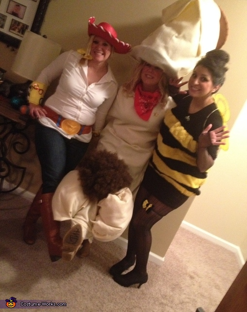 Jessie Woody Buzz, Toy Story Jessie, Woody and Buzz Costume