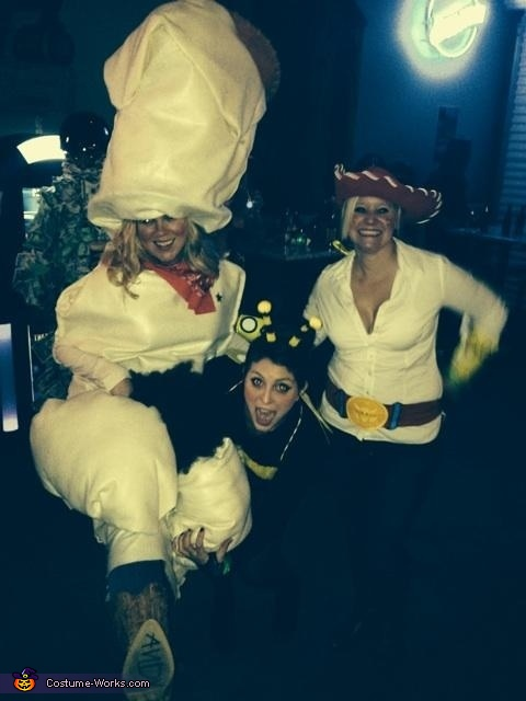 'Toy Story', Toy Story Jessie, Woody and Buzz Costume