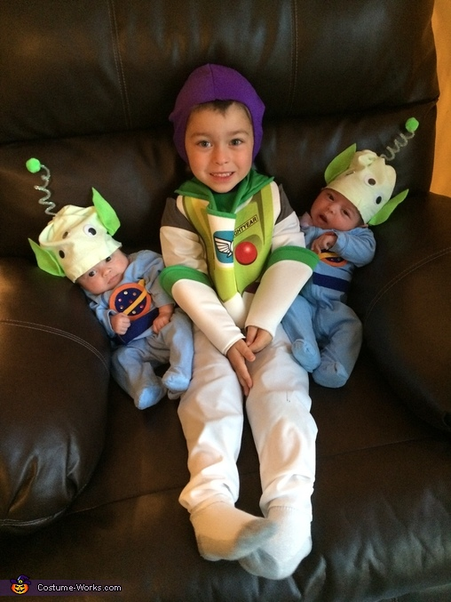 Toy Story Peeps Homemade Costume
