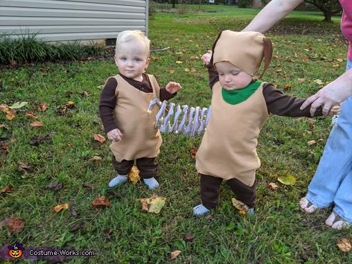 Toy Story Slinky Dog Homemade Costume