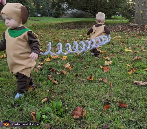 Toy Story Slinky Dog Homemade Costume