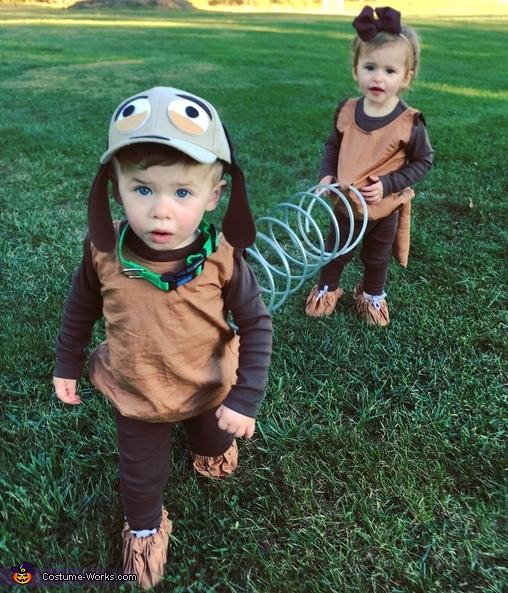 Toy Story Slinky Dog Costume