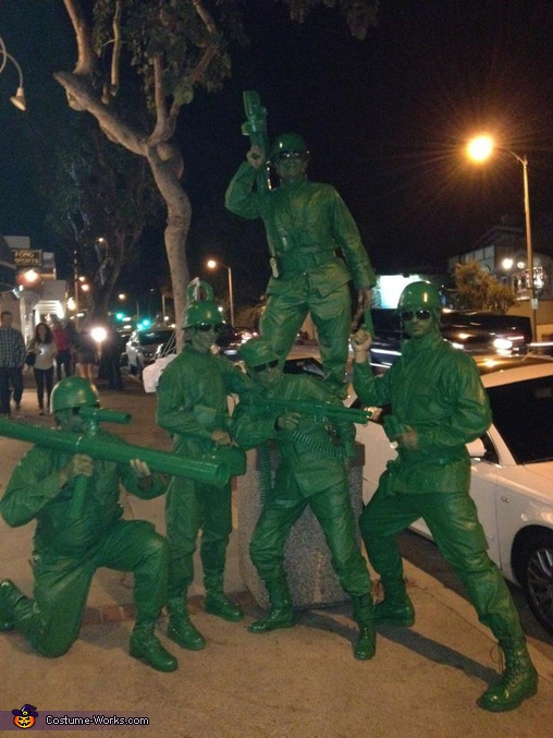 Toy Story Soldiers - Homemade costumes for groups