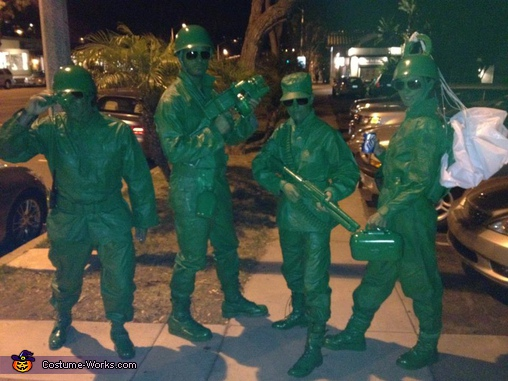 Homemade Toy Story Soldiers Costume
