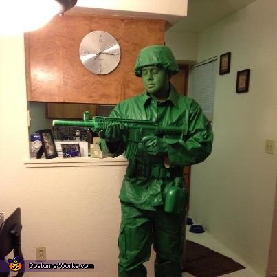 Toy Story Toy Soldier Costume