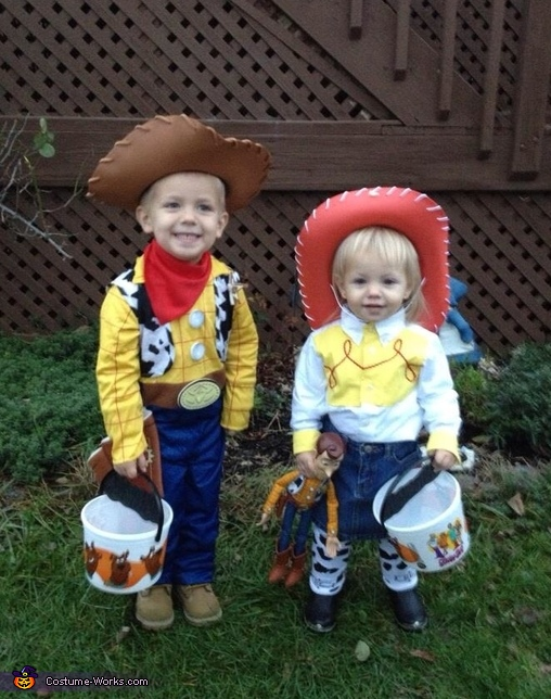 Toy Story Woody and Jessie Costume