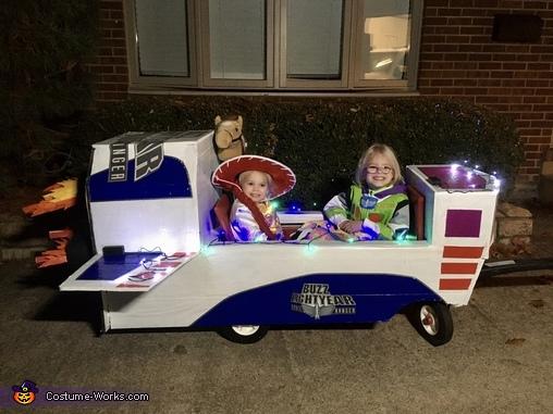 Toy Story's Buzz Lightyear & Jessie Homemade Costume