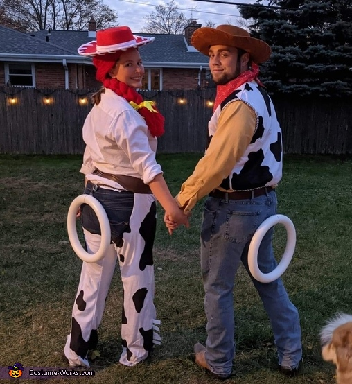 Toy Story's Jesse & Woody Get Married Costume