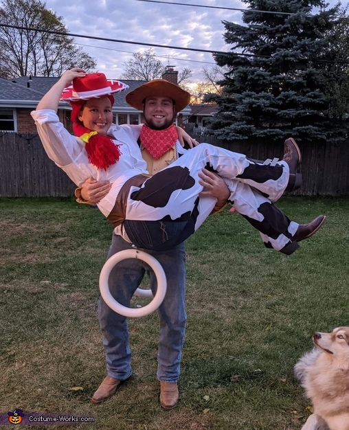 Toy Story's Jesse & Woody Homemade Costume