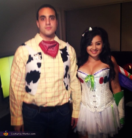 Toy Story's Woody and Buzz Lightyear Couple's Costume