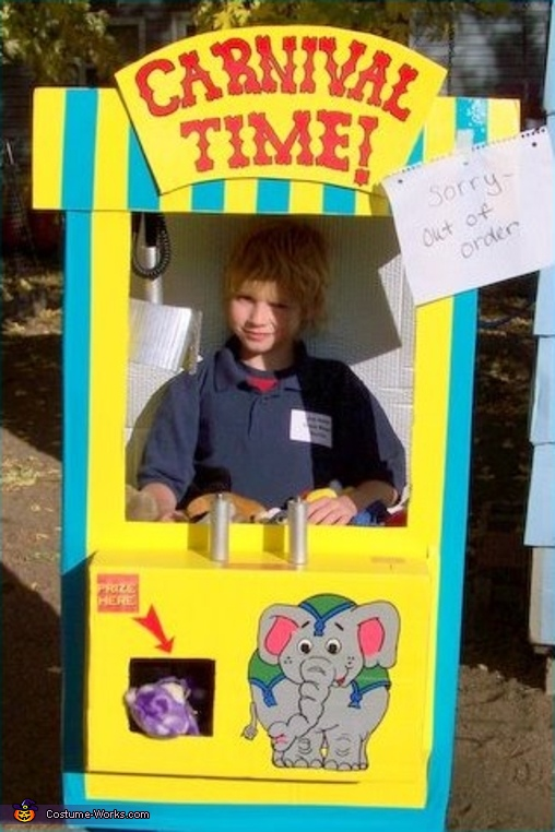 Crane Machine - Homemade costumes for boys