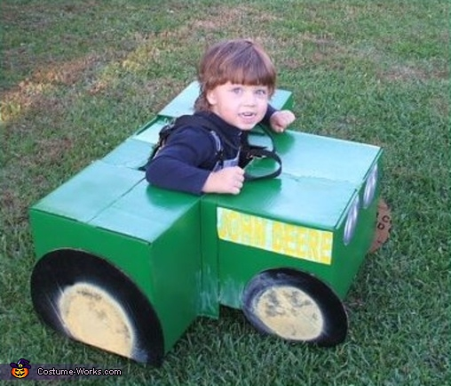 Tractor - Homemade costumes for boys