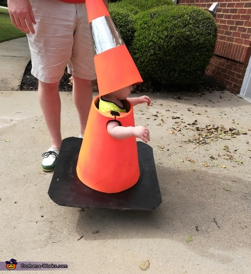 Traffic Cone Homemade Costume