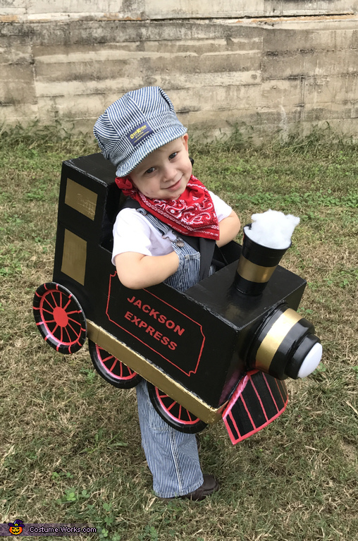 Train Conductor for the Jackson Express Costume
