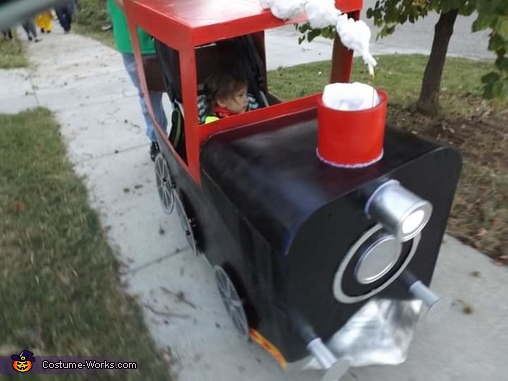Train Engineer Homemade Costume
