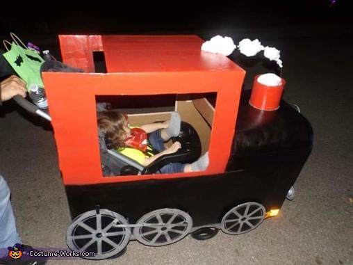 Train Engineer Homemade Costume