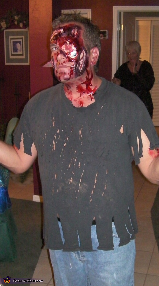 Train Wreck Costume