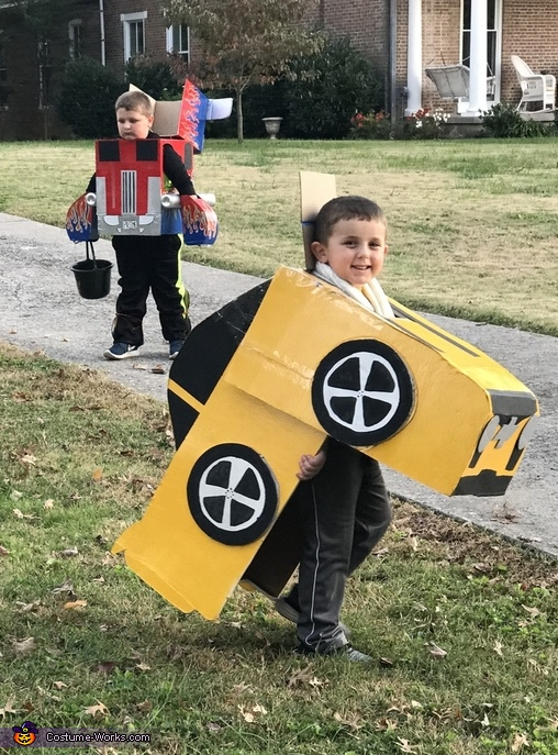 Tranforming Transformers Costume