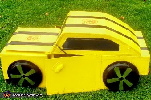 Transformer Bumble Bee Costume