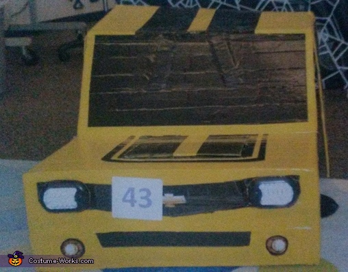 Stage 1, Transformable Bumblebee Transformer Camaro Costume