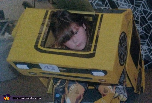 Stage 2, Transformable Bumblebee Transformer Camaro Costume
