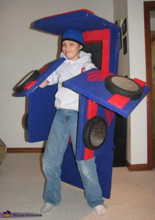 Transformer Costume
