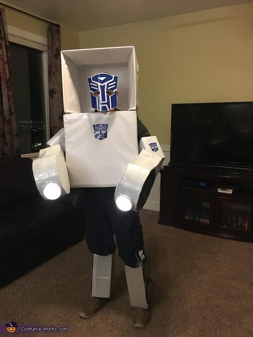 Front, Transformer Costume