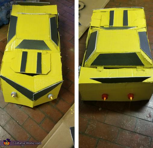 Transformer, Transformer Autobot Bumblebee Costume